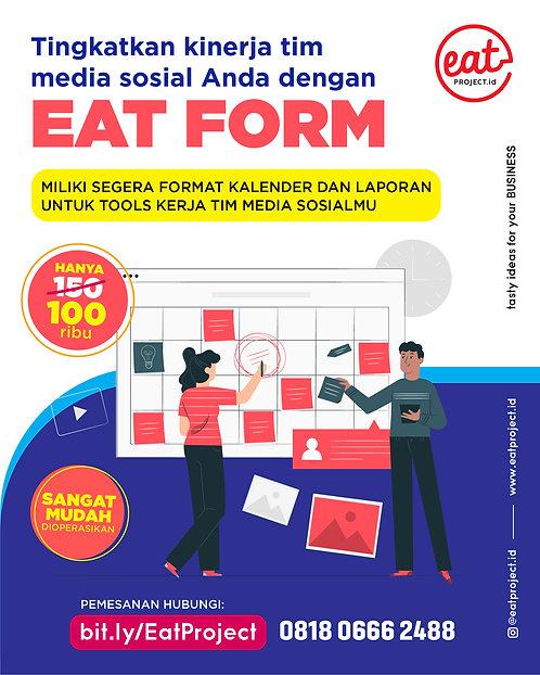 Format Pengukuran Performa Media Sosial