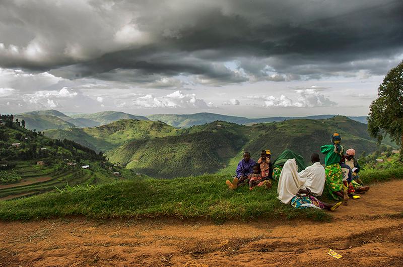Rolling Hills in Uganda