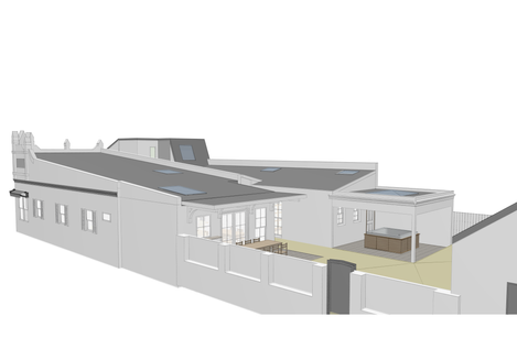 Willoughby House - 3D View