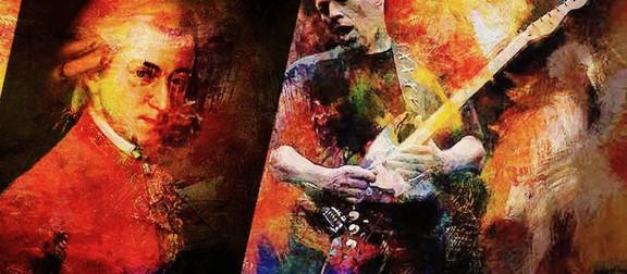 Mozart meets Pink Floyd