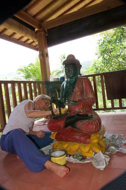 Buddha herrichten