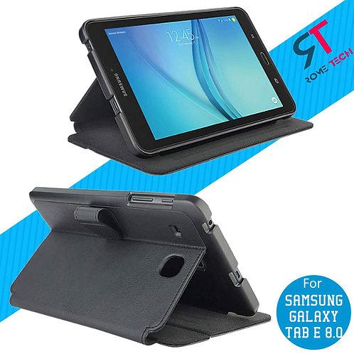 "Samsung Galaxy Tab E 8.0"" Rome Tech OEM Folio Case w/Stand"