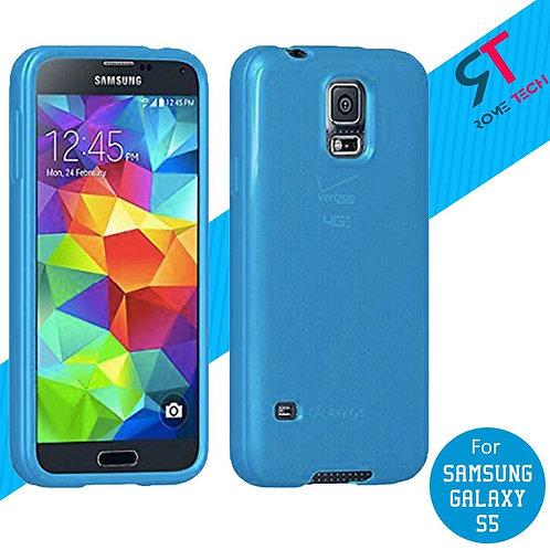 Samsung Galaxy S5 Rome Tech Ultra Slim Silicone Case Cover