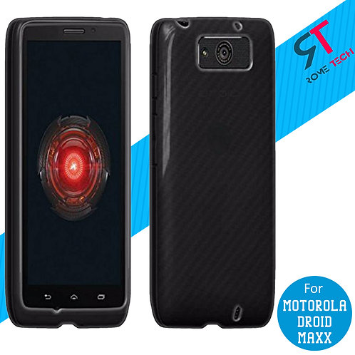 Motorola Droid Maxx Rome Tech Ultra Slim Silicone Case Cover