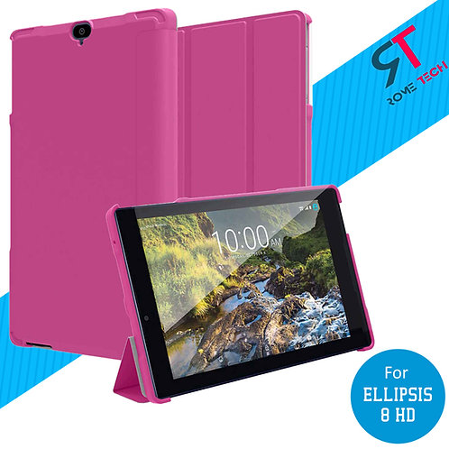 Verizon Ellipsis 8 HD Rome Tech OEM Folio Case w/Stand - Pink