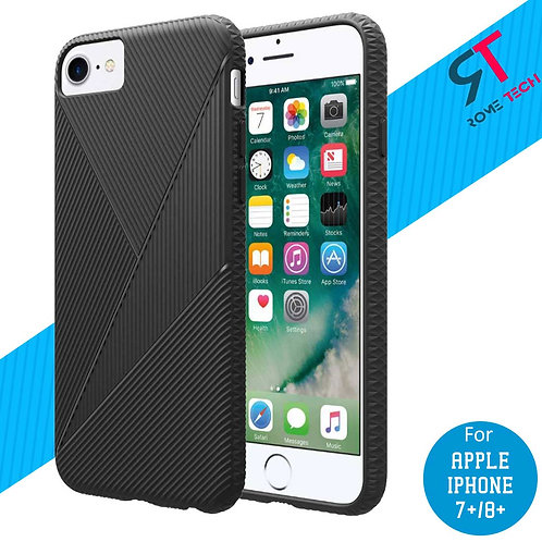 Apple iPhone 7/8 Plus Rome Tech OEM Textured Silicone Case Cover