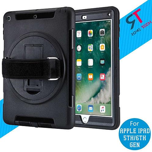 Apple iPad 5th & 6th Gen Rome Tech OEM Rugged Strap Case - Black
