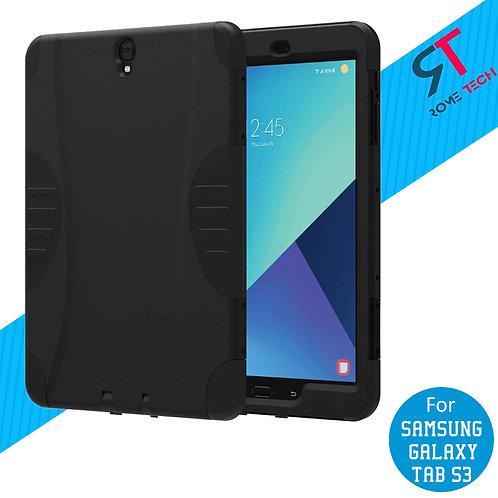 "Samsung Galaxy Tab S3 9.7"" Rome Tech OEM Rugged Case - Black"
