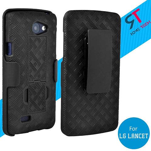 LG Lancet Rome Tech OEM Shell Holster Combo Case - Black
