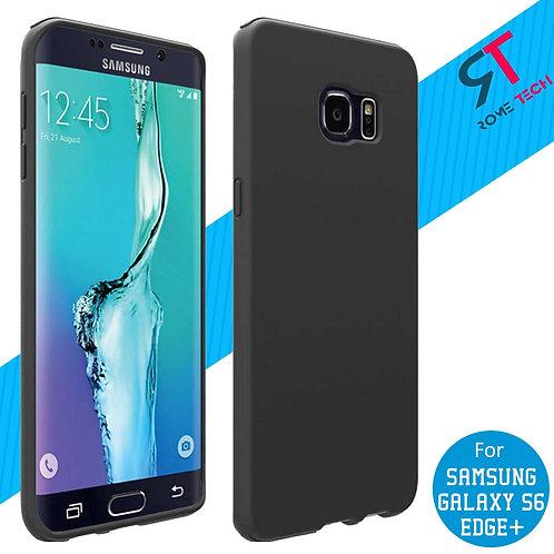 Samsung Galaxy S6 edge+ Rome Tech OEM Matte Silicone Case Cover - Black