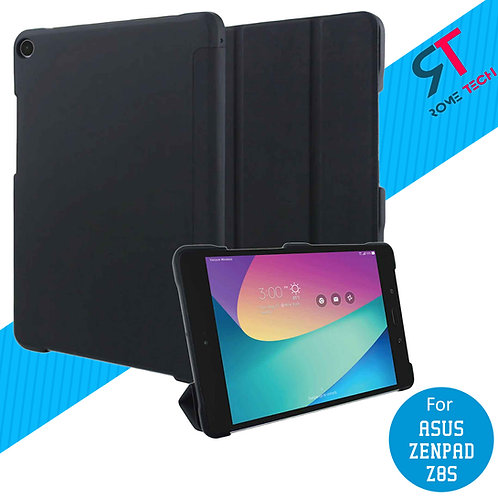 ASUS ZenPad Z8s Rome Tech OEM Slim Shock Proof Folio Case - Black