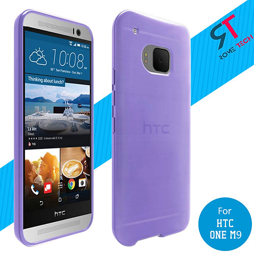 HTC One M9 Rome Tech Silicone Case Cover