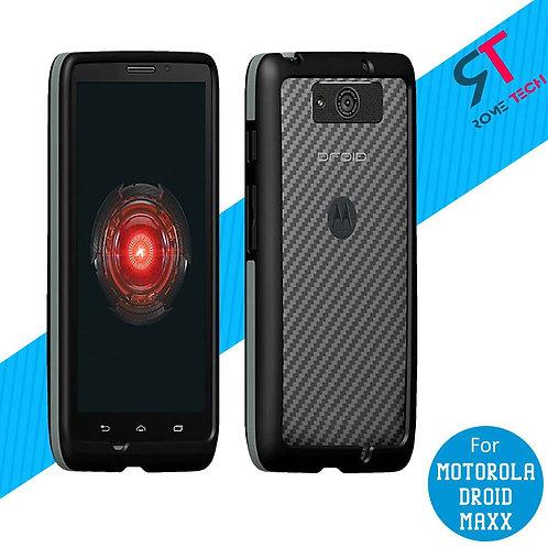 Motorola Droid Maxx Rome Tech Two-Tone Bumper Case Cover