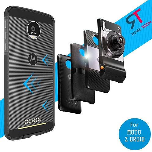 Motorola Moto Z Droid Rome Tech OEM Two-Tone Bumper Case