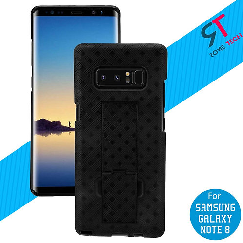 Samsung Galaxy Note 8 Rome Tech OEM Shell Holster Combo Case - Black