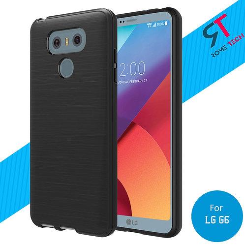 LG G6 Rome Tech Ultra Slim Matte Silicone Case Cover