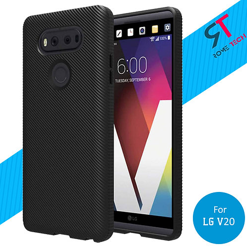 LG V20 Rome Tech Ultra Slim Textured Silicone Case Cover