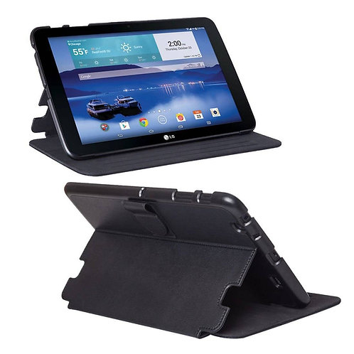 LG G Pad 8.3 LTE Rome Tech OEM Slim Shock Proof Folding Stand Cover Folio