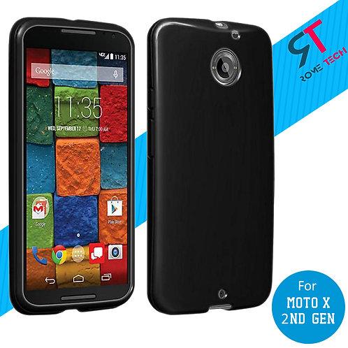 Motorola Moto X (2nd Gen) Rome Tech Ultra Slim Silicone Case Cover