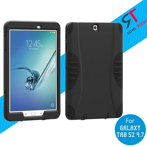 """Samsung Galaxy Tab S2 9.7"""" Rome Tech Rugged Case Cover w/Screen Protector"""