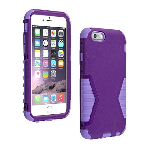 Apple iPhone 6 / 6s Rome Tech Purple Rugged Case Cover