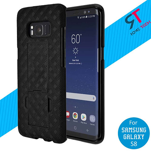 Samsung Galaxy S8 Rome Tech OEM Shell Holster Combo Case - Black