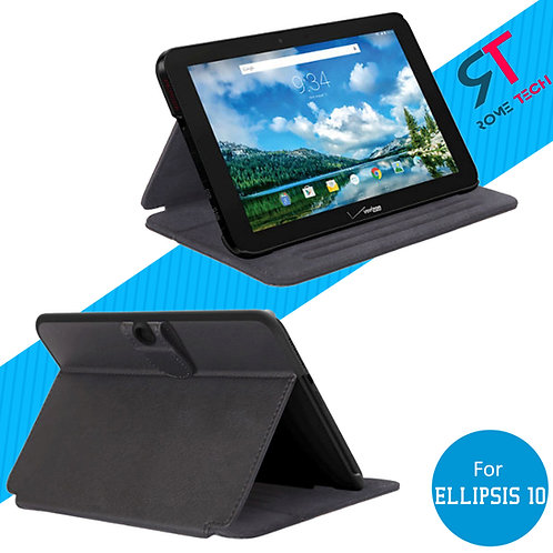 Verizon Ellipsis 10 Rome Tech OEM Folio Case w/Clip