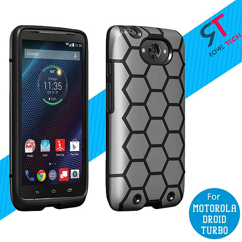 Motorola Droid Turbo Rome Tech Ultra Slim Soft TPU Case Cover