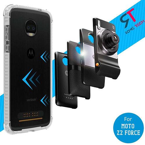 Motorola Moto Z2 Force Rome Tech Bumper Case Cover