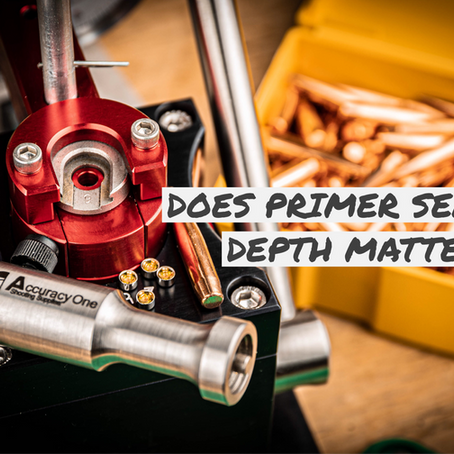Does Primer Seating Depth Matter?