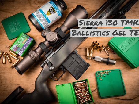 Sierra 130 TMK Ballistics Gel Test