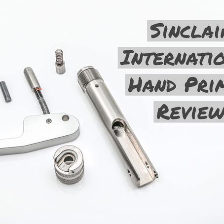 Sinclair International Hand Primer Review