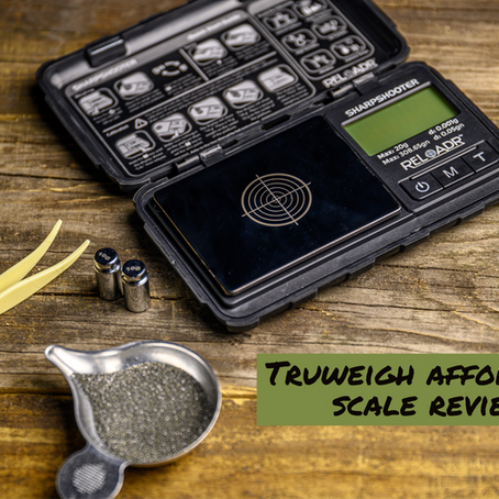 Truweigh Affordable Reloading Scale