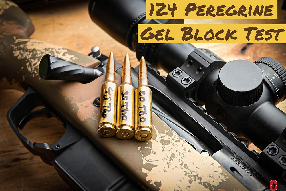 124 peregrine bullet in 6.5mm creedmoor. Ballistics Gel Test.