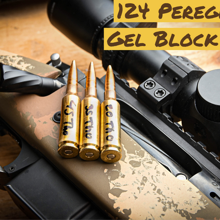 124 Peregrine Ballistics Gel Test