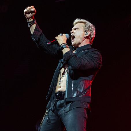 Billy Idol At Mohegan Sun Arena, Uncasville, CT 8/3/19