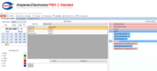 Amperes PA System - PMX II LAN