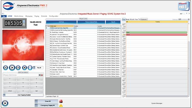 Amperes PMX II Music Server Software