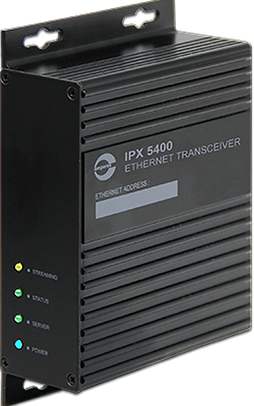 Amperes Ethernet Data & Audio Transceiver - iPX5400