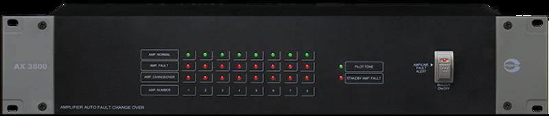 Amperes 8/1 Auto Amp Changeover Unit - AX3800