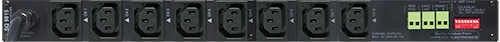 Amperes 8ch Sequential Power Switcher Rear view - SQ9815