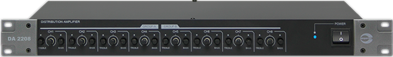 Amperes Audio Distribution Amplifier- DA2208