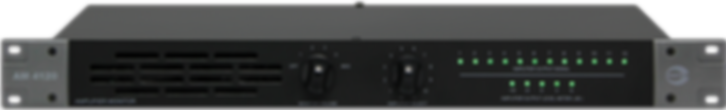 Amperes 12Ch Amplifier Monitor Panel - AM4120