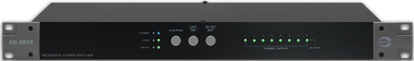 Amperes 8ch Sequential Power Switcher - SQ9815