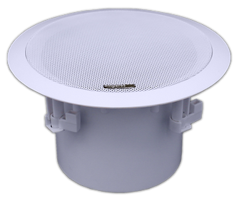 Co-axial ceiling speaker