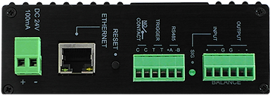 Amperes Ethernet Paging Client - iPX5151 Side view