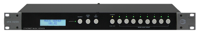 Amperes Ethernet Music Server - iPX5200s