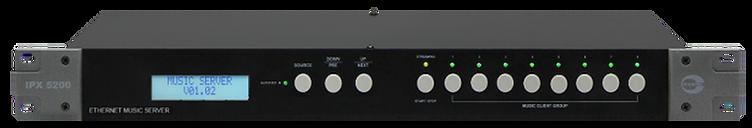 Amperes Ethernet Music Server - iPX5200