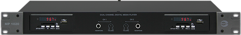 Amperes Dual Channel Media Player - MP1020