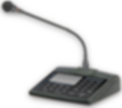Amperes Touch screen paging microphone - PD1900